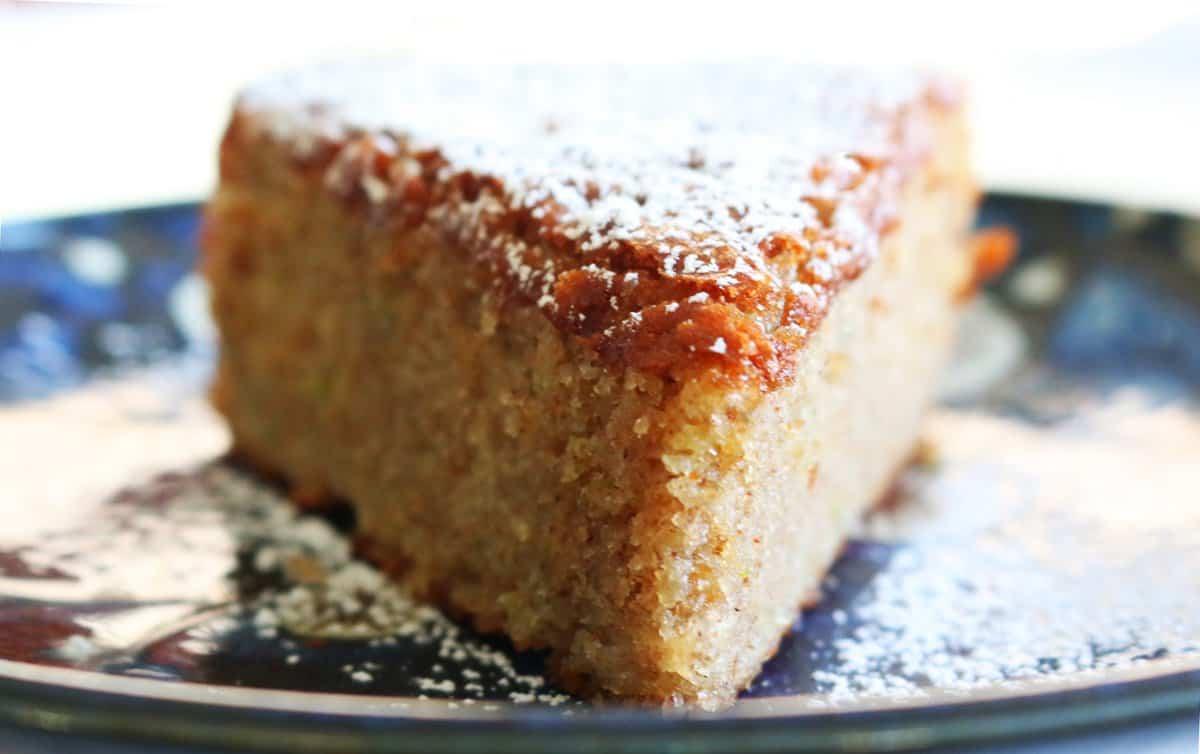 Carrot Streusel Cake