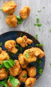 crispy and crunchy buttermilk fried cauliflower