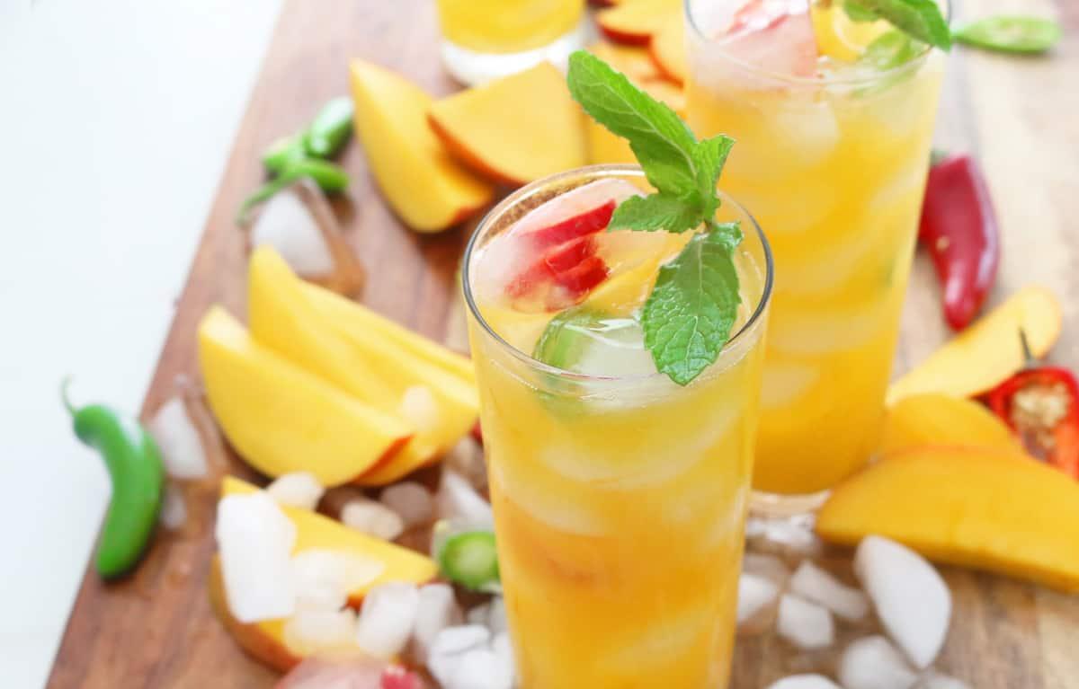 Skinny Mango Colada With (Optional) Jalapeños - Kitchen ...