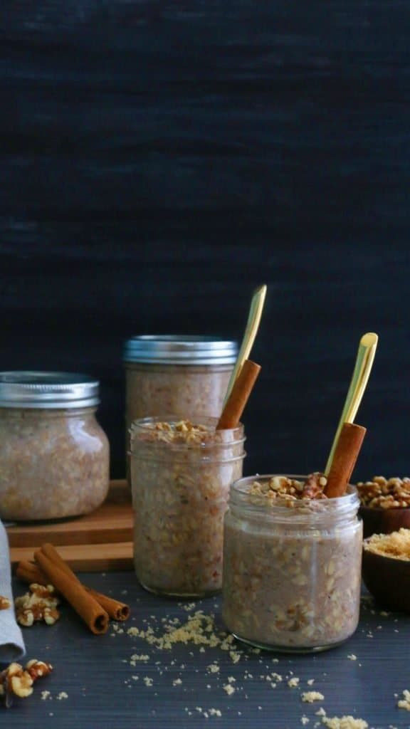 Banana Nut Muffin Overnight Oats - Kitchen @ Hoskins