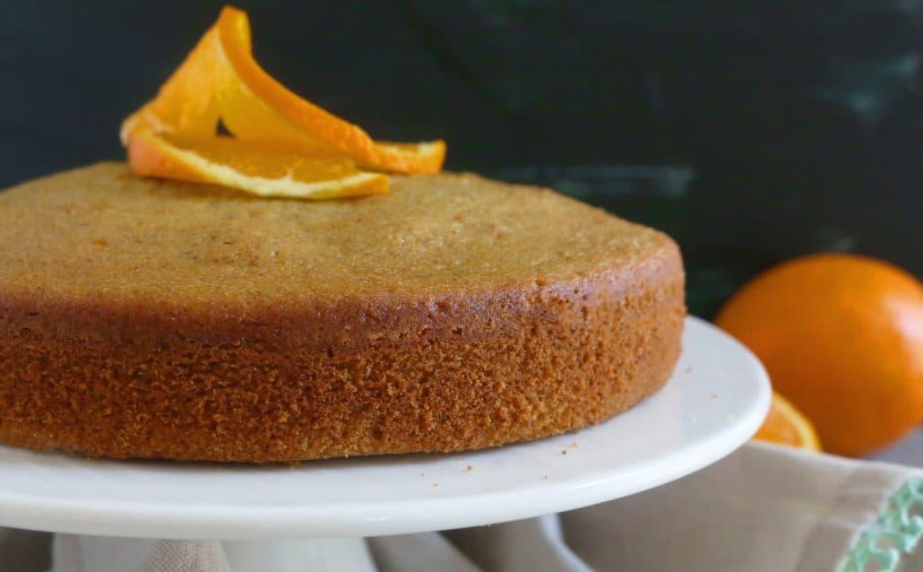 (Super Soft) Orange Walnut Cake - Kitchen @ Hoskins