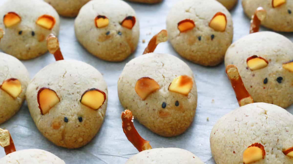 Pecan Mice Cookies