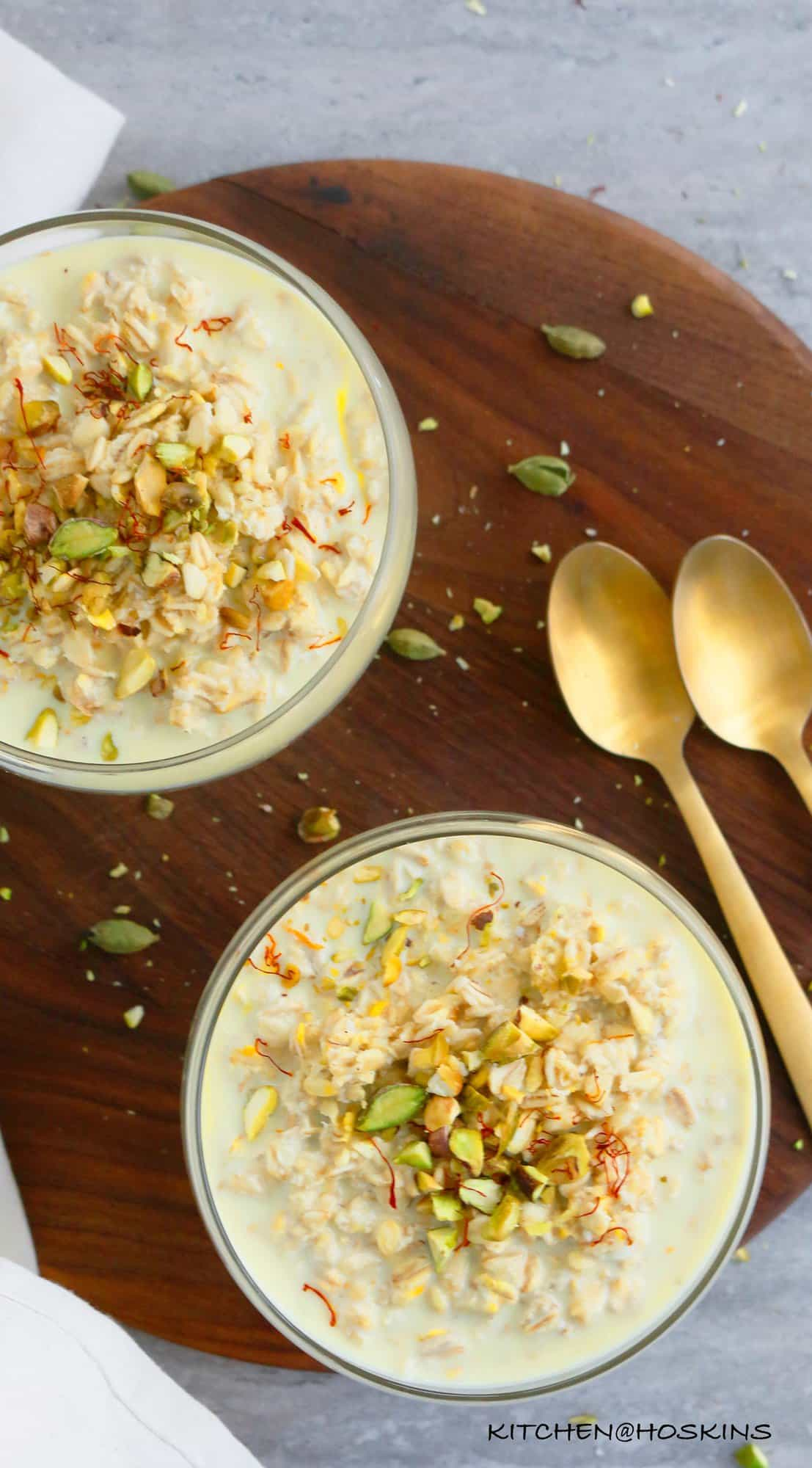 indian oatmeal recipe