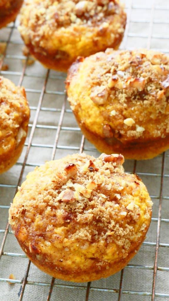 Pumpkin Streusel Pancake Cups - Kitchen @ Hoskins
