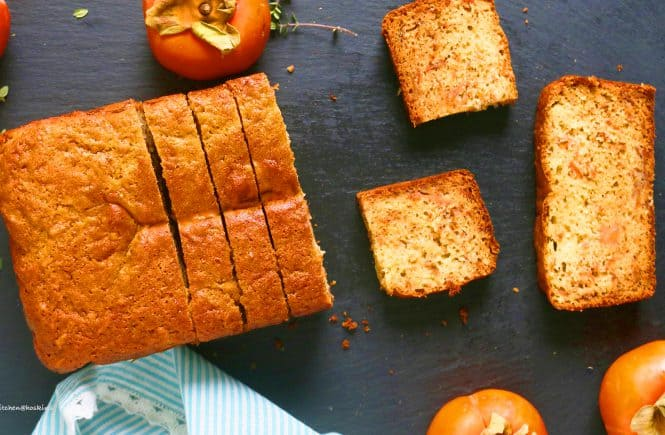 healthyish persimmon bread