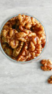 easy 5 minute candied walnuts