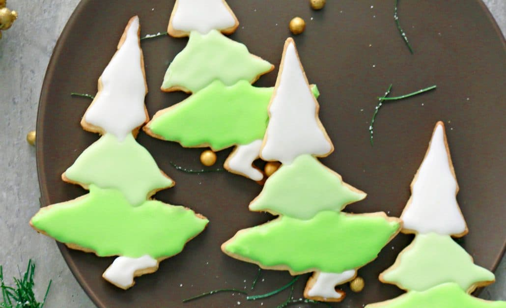 Christmas Tree Sugar Cookies Kitchen Hoskins