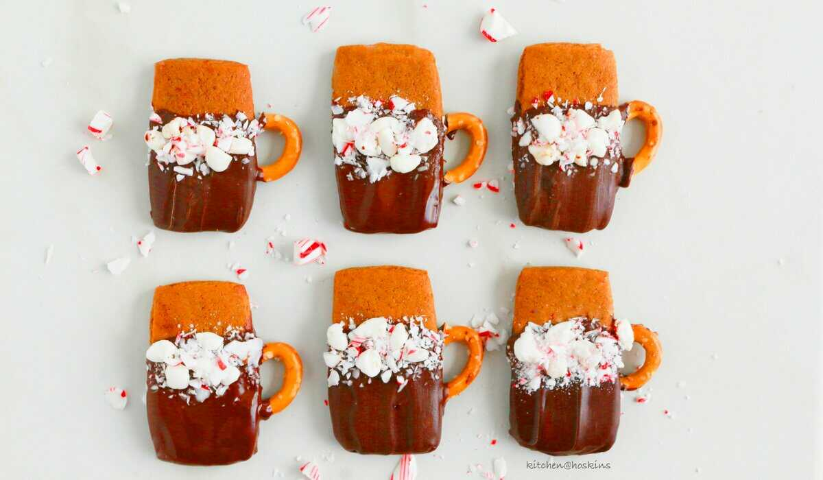 gingerbread cookie cocoa cup