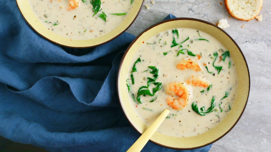best shrimp soup