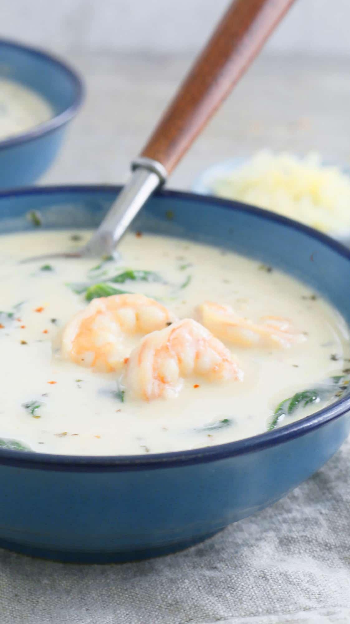 BEST SHRIMP SOUP
