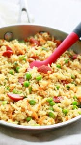 how to make hot dog fried rice with egg