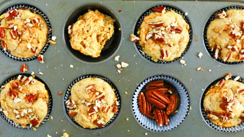 easy, quick, soft sweet potato bread or sweet potato muffins