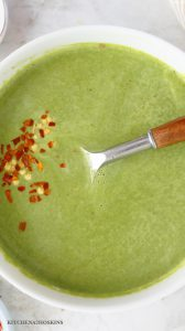 HEALTHY INDIAN SPINACH SOUP