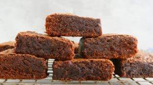 stalk of gluten free brownies