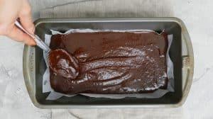 nutella brownie batter