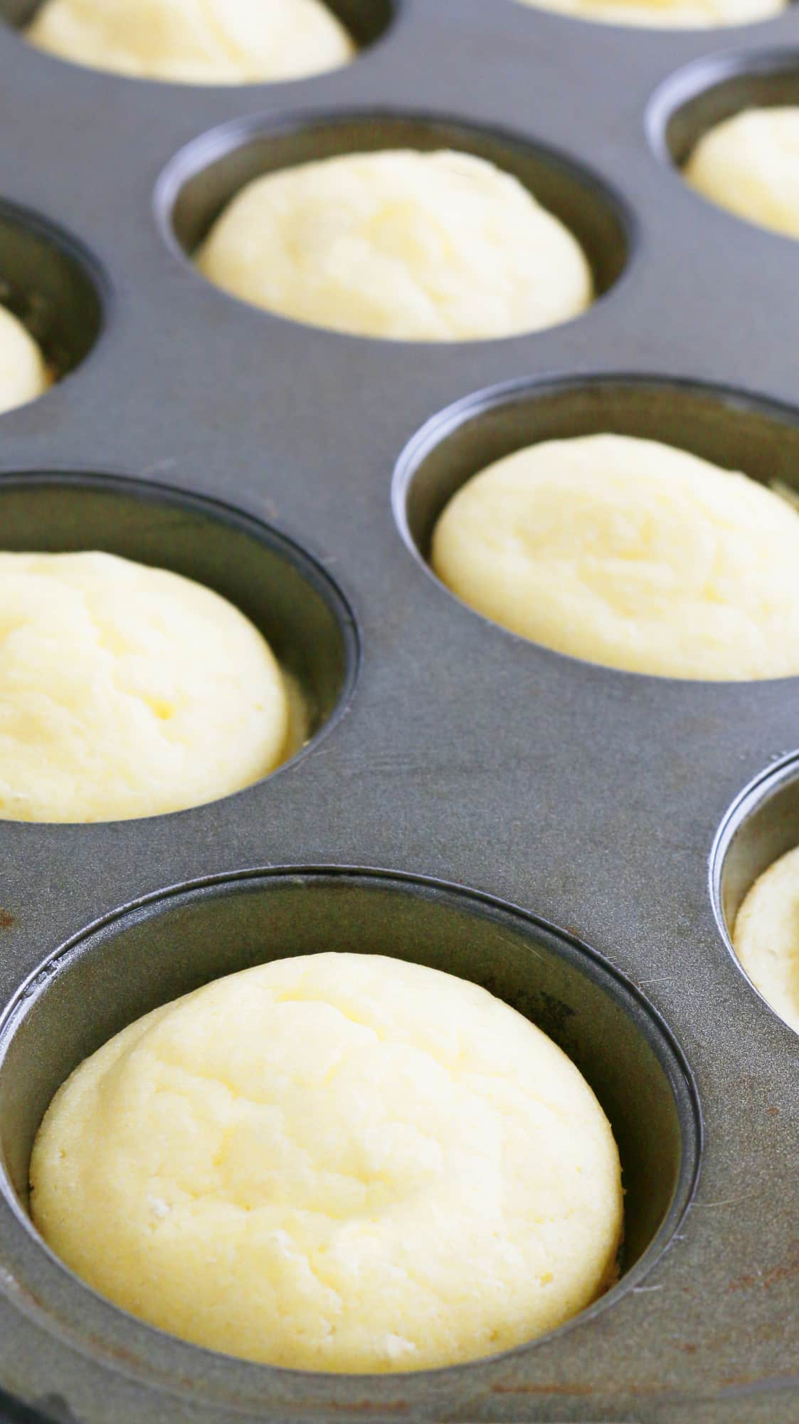 baked fluffy pancake cups