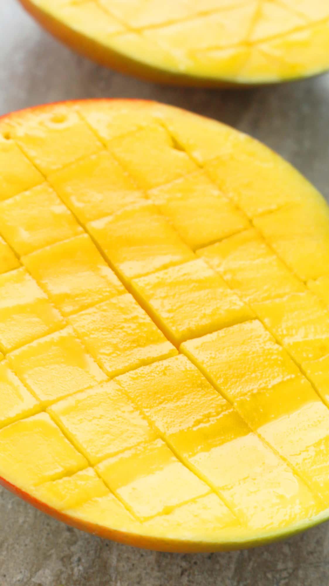 baked mangoes