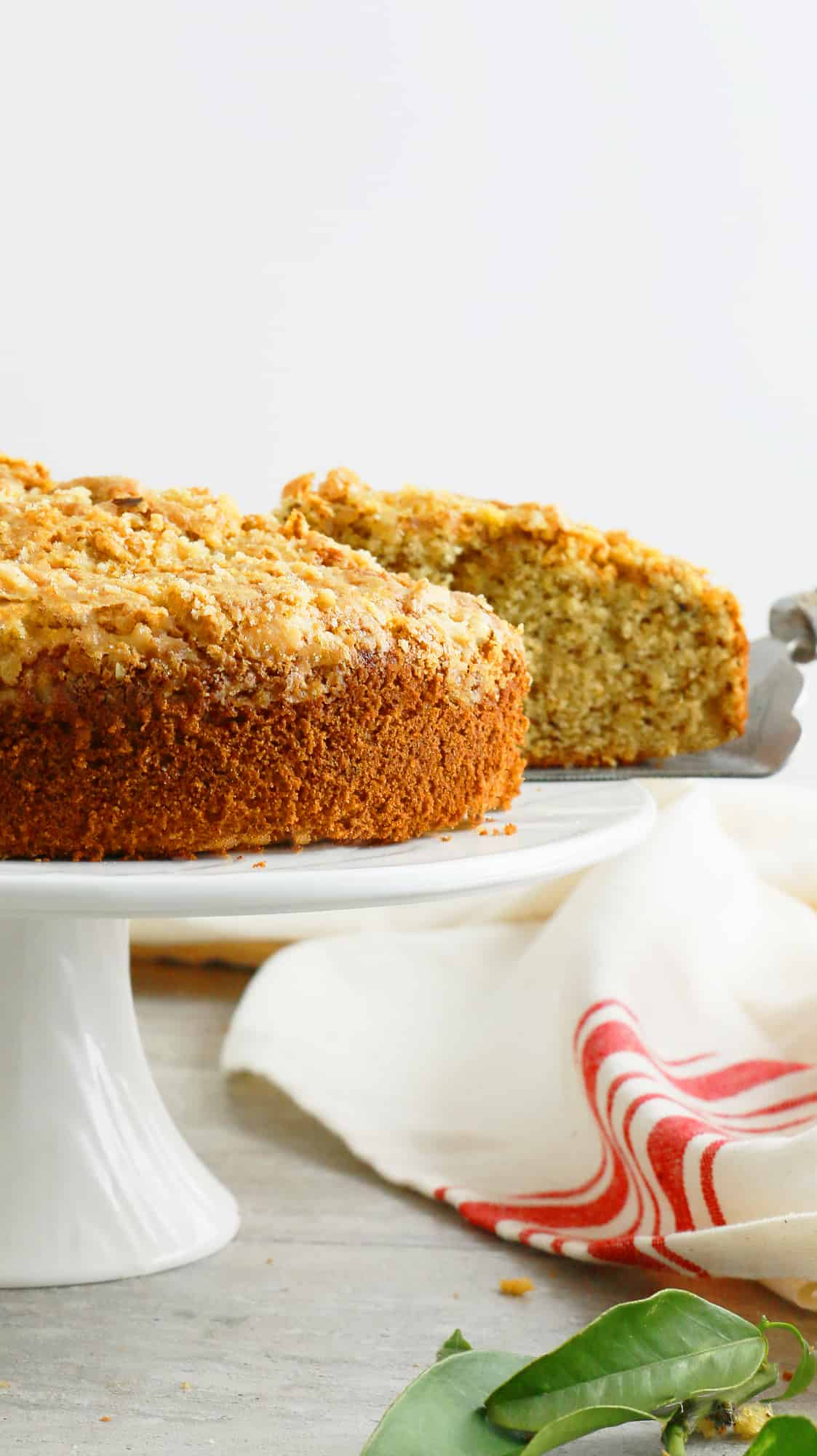 Plain Walnut Cake Recipe