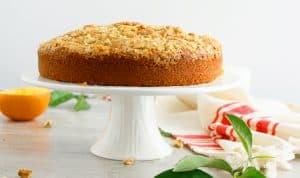 orange walnut cake