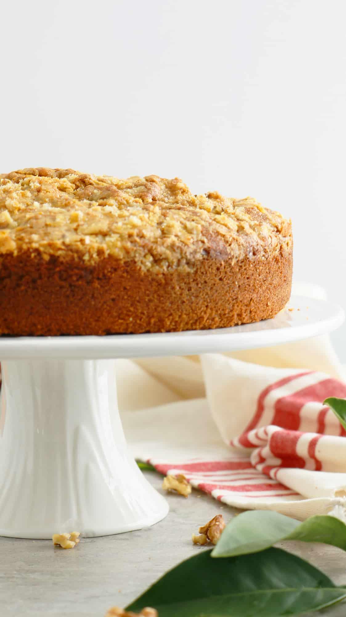 Orange Walnut Cake - Kitchen @ Hoskins