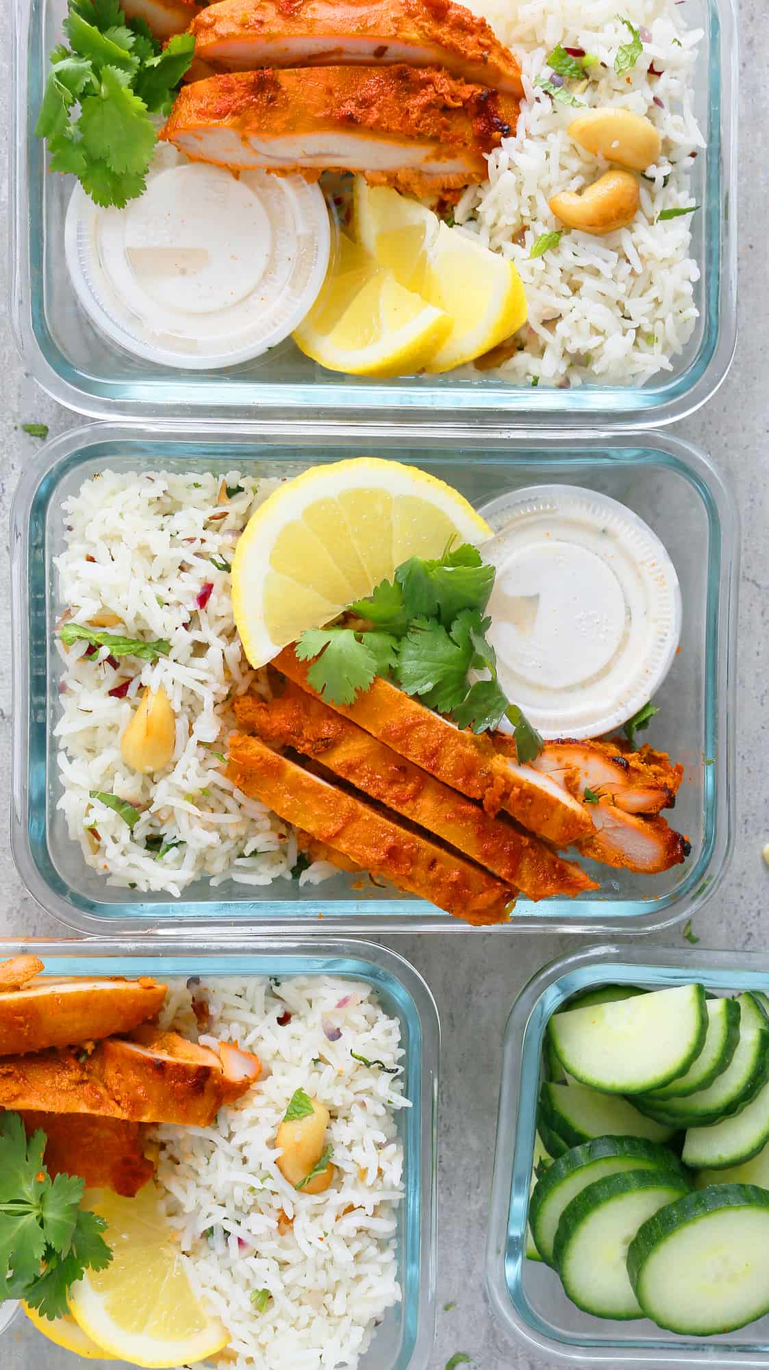 tandoori chicken meal prep
