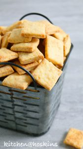 homemade parmesan cheese crackers