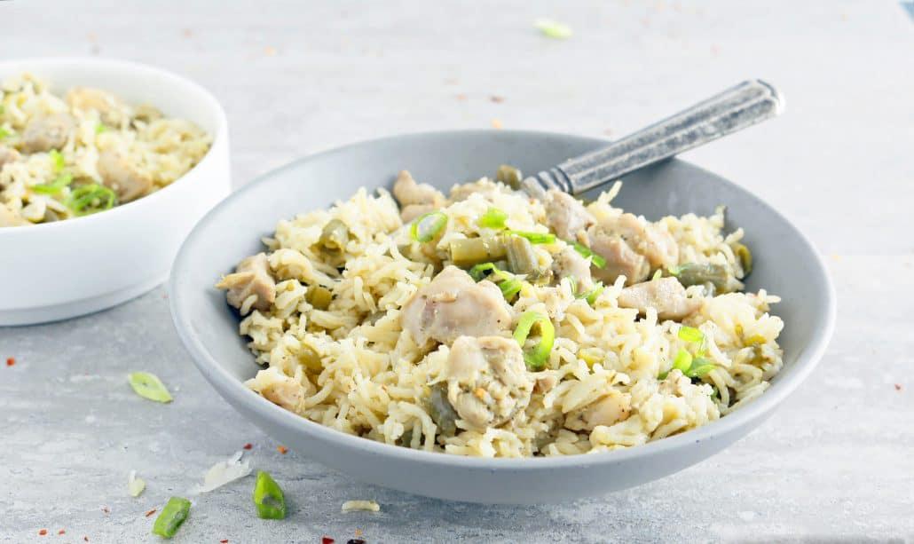 instant pot chicken pesto rice - Rice Kitchen