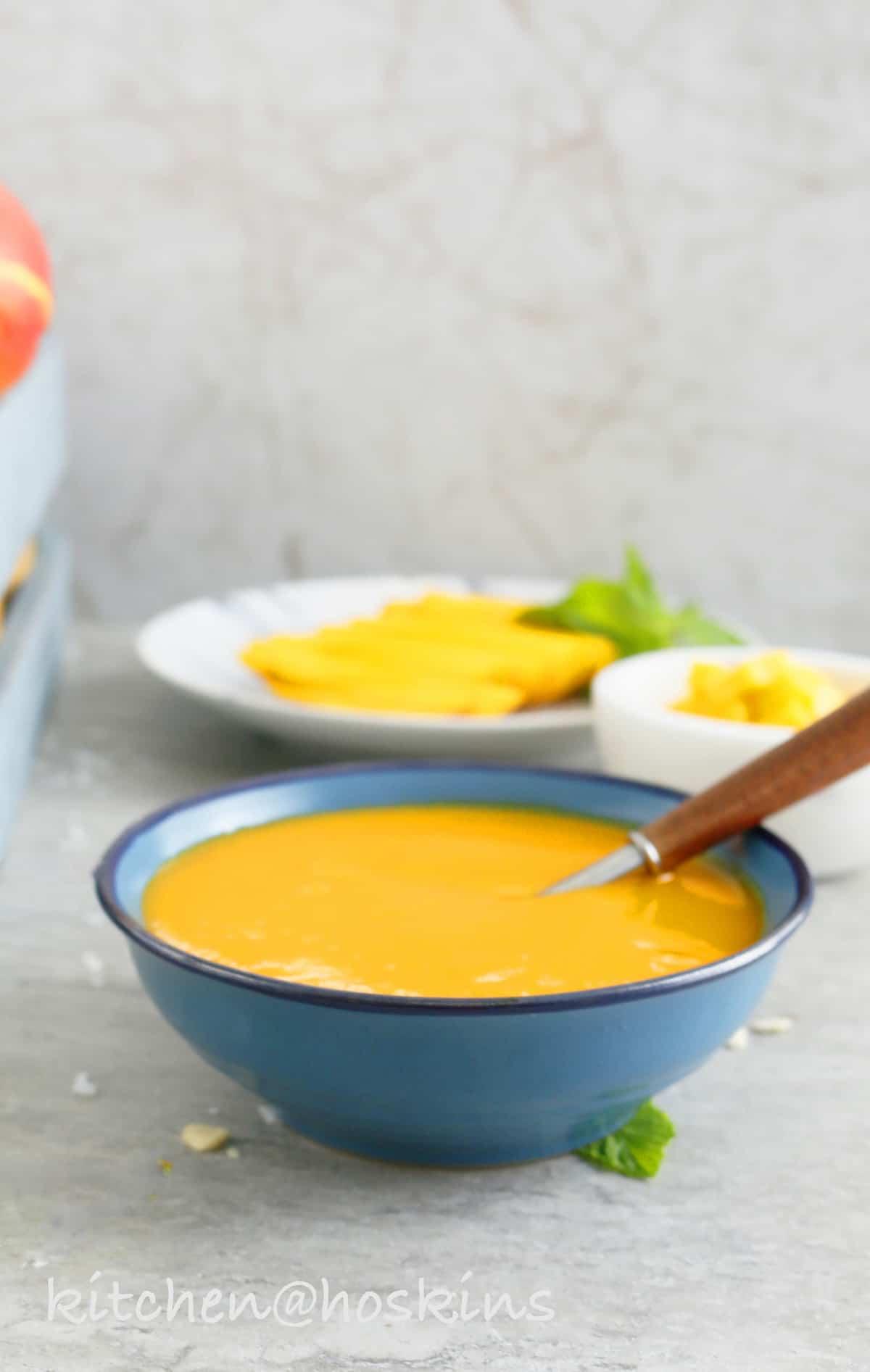 mango kulfi overnight oats