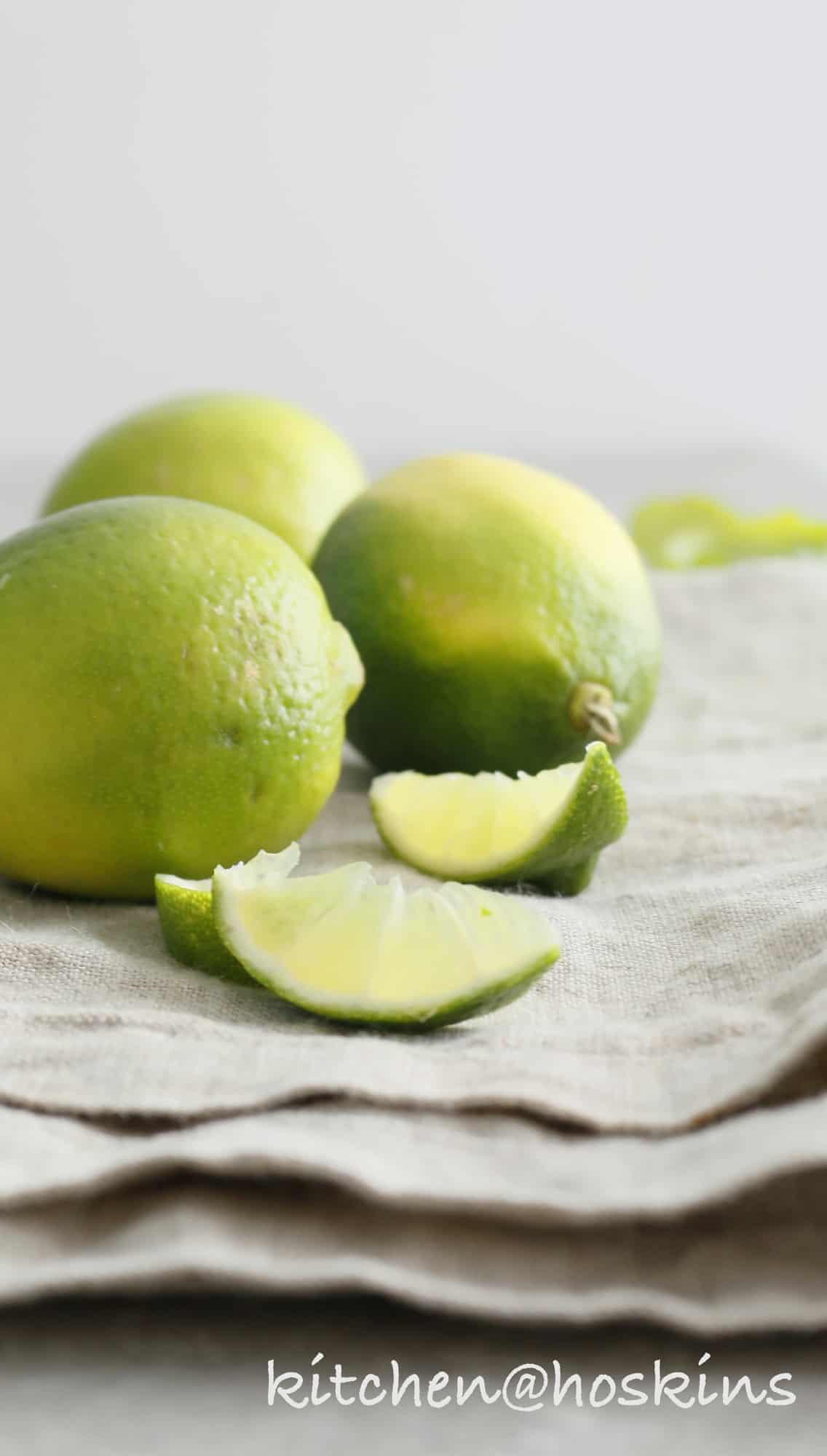mango lime granita