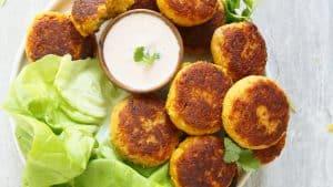 pan fried falafel