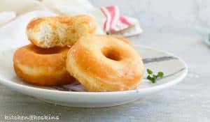 super soft glazed doughnuts