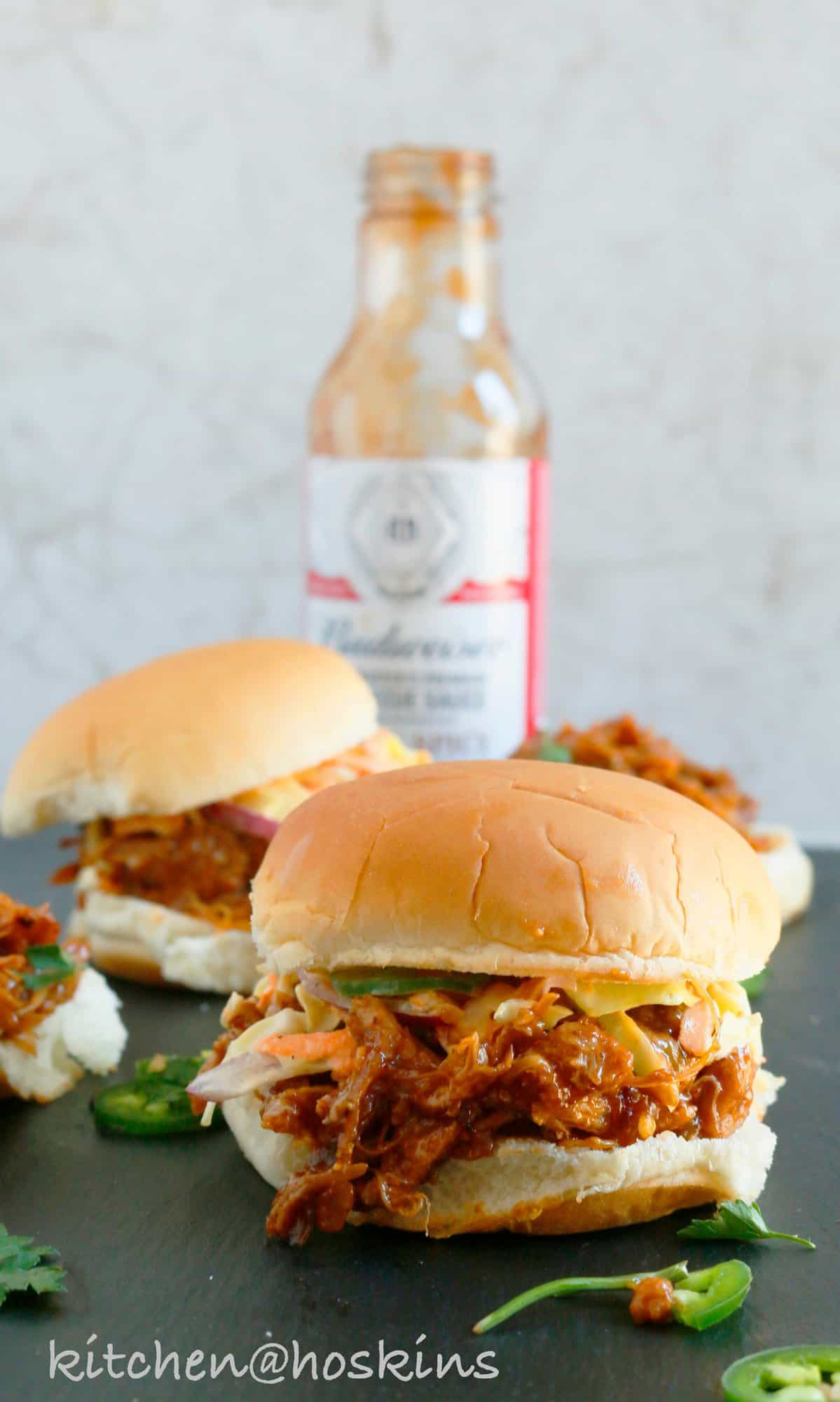 instant pot bbq pulled chicken sandwiches