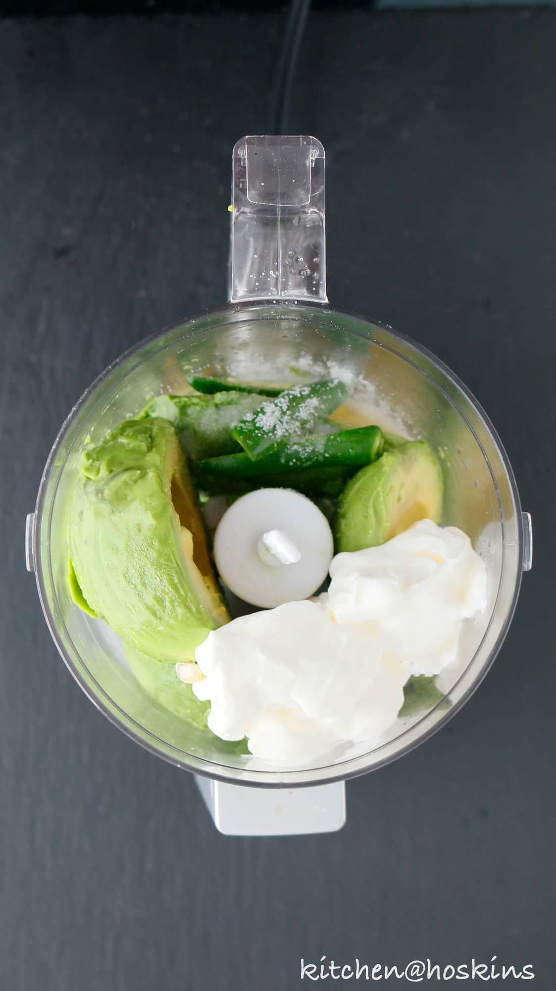 avocado jalapeno crema