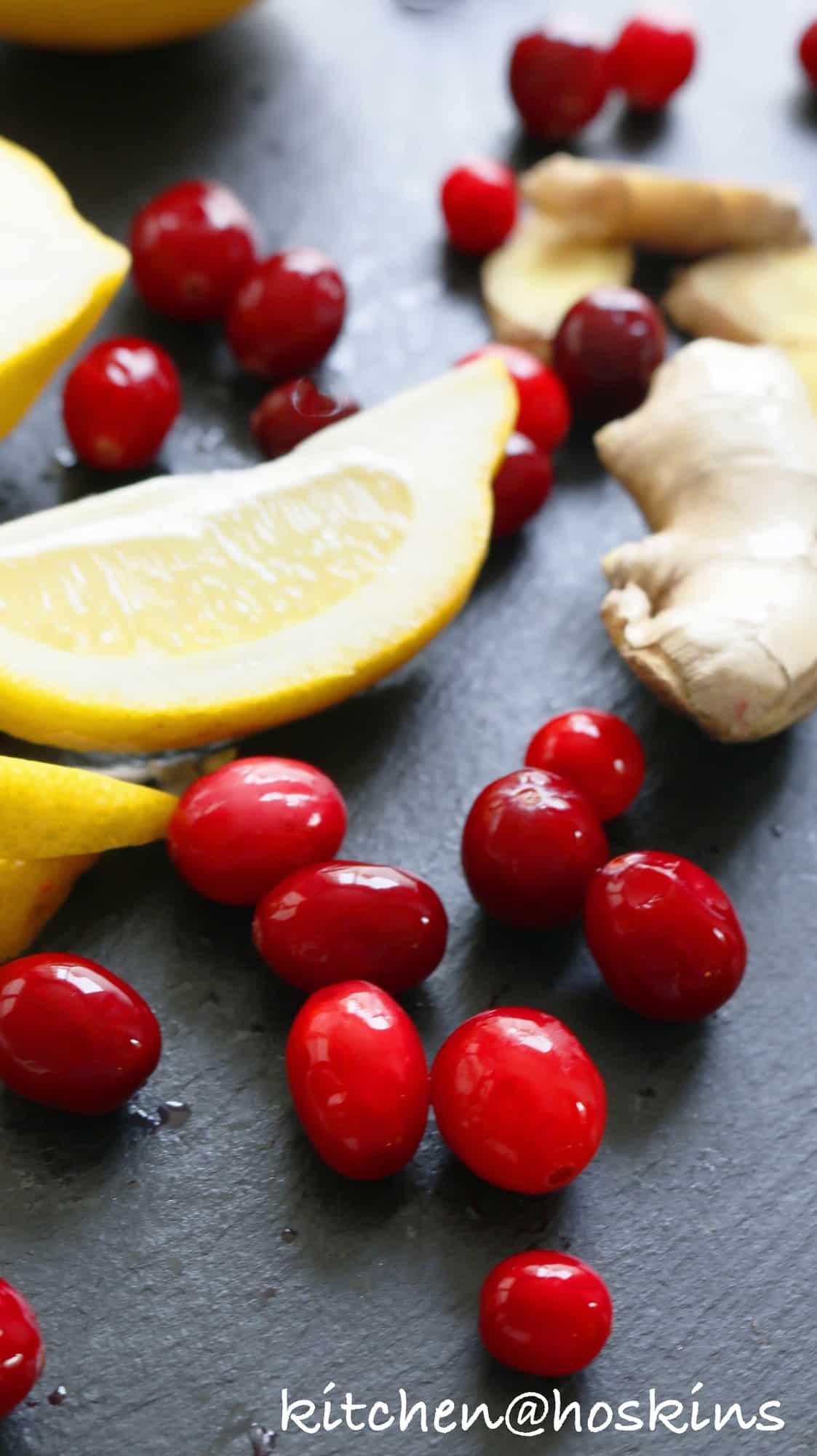 cranberry lemon fizz