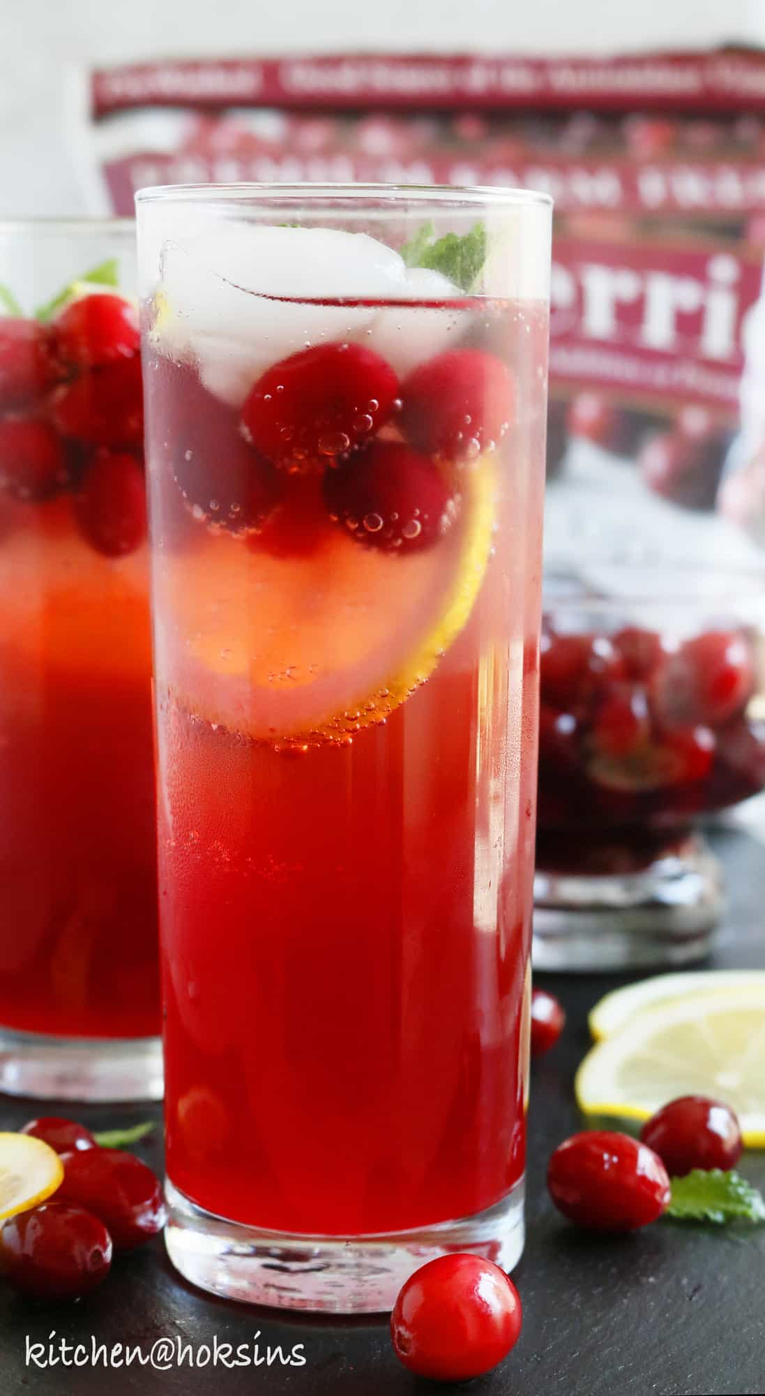 cranberry lemon fizz