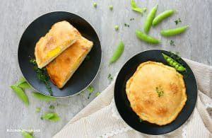 ham egg and cheese calzones
