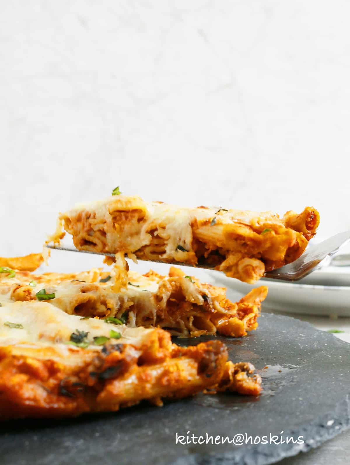 leftover pasta pizza
