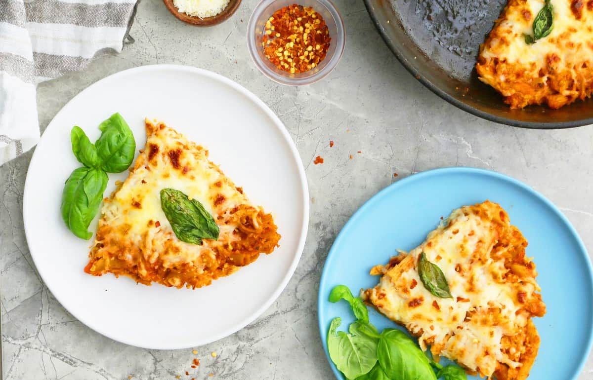 leftover pasta idea