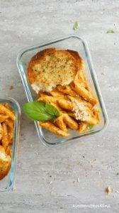instant pot no-cream pasta with tomato cream sauce