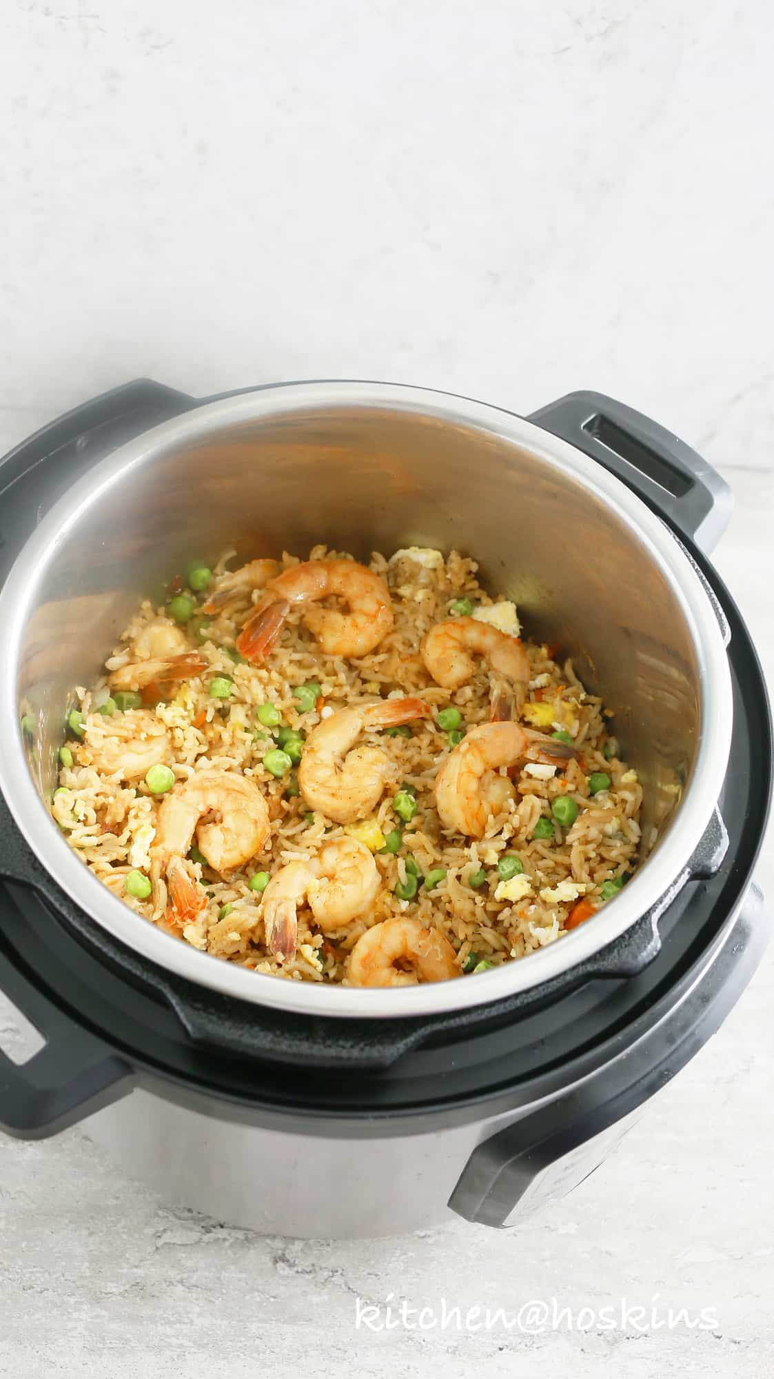 Instant Pot Shrimp Fried Rice Kitchen Hoskins