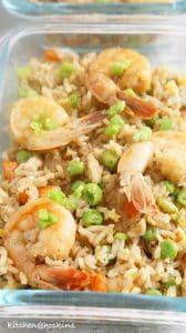 instant pot shrimp fried rice