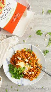 instant pot gluten free pasta shakshuka
