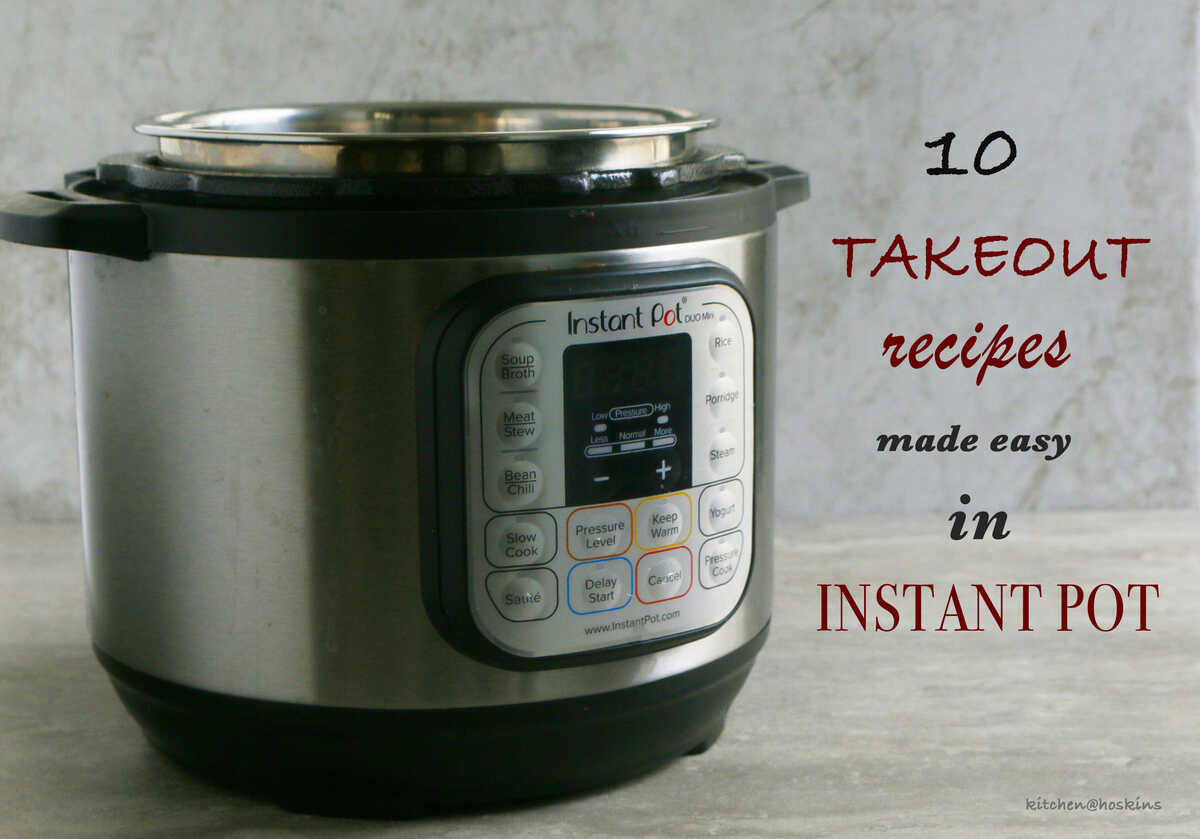 instant pot takeout recipes