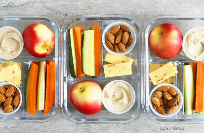 diy healthy snack box