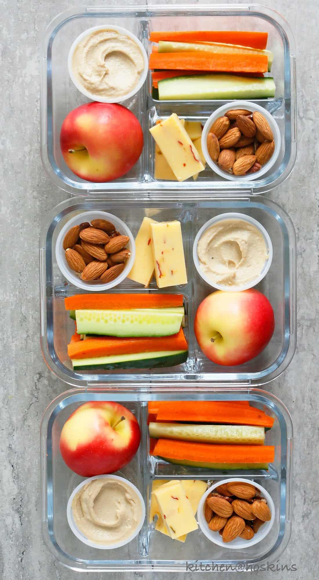 diy healthy snack box