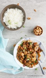 EASY INSTANT POT CASHEW CHICKEN