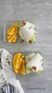 SUPER EASY COBB SALAD WRAPS