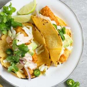 easy fish tacos with frozen fish sticks