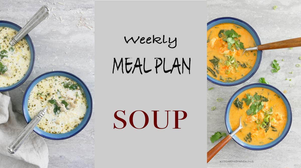 WEEKLY MEAL PLAN SOUP