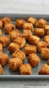 cheesy oat bites